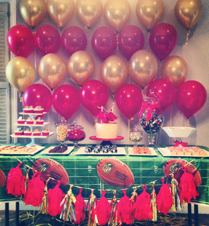 San Francisco 49ers Dessert Table Fallinginsweetlove 404867 337510753021429 1402107195 N
